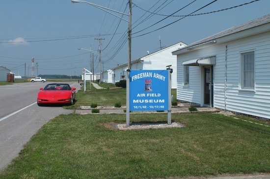 Entrance to the museum - Picture of Freeman Army Airfield ...
