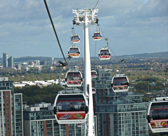 Cable Cars Picture Of Emirates Air Line Cable Car
