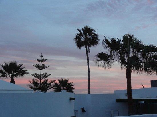 Las Coronas Apartments View Of Sky From Patio