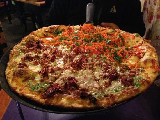 Medium Sized Pizza Huge According To Asian Standard