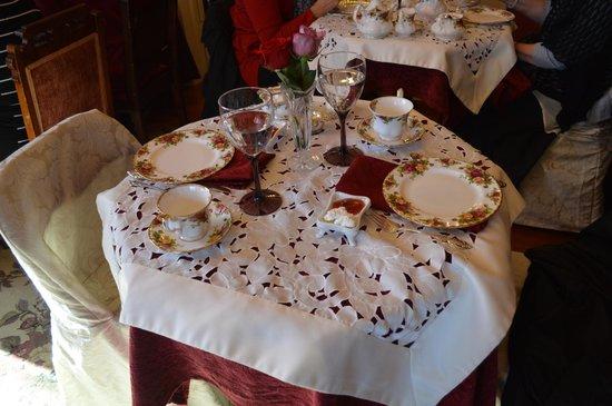 victorian table setting Brokeasshomecom