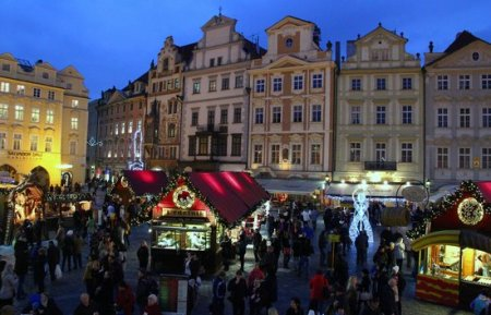 is unesco protected prague christmas market dates hotels things to do christmas prague czech republic prague the old town square christmas market stock