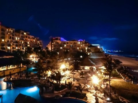 Cancun at Night