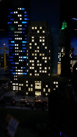 Lego city hall   night   Picture of LEGOLAND Discovery Center     LEGOLAND Discovery Center  Lego city hall   night
