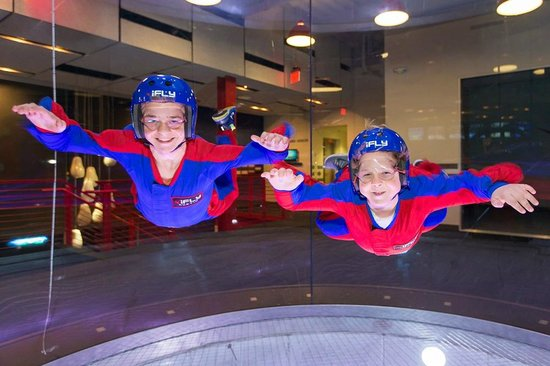 Ifly Indoor Skydiving Naperville Il Address Phone