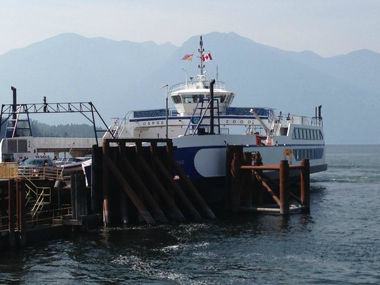 Image result for kootenay lake ferry balfour