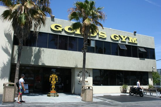 Le Mythique Gold's Gym - Picture of Venice Canals Walkway ...