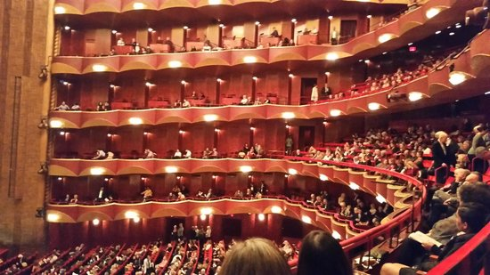 Metropolitan Opera House New York Seating Chart