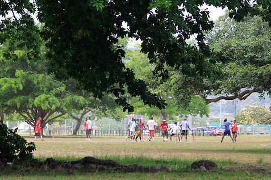 El helicoptero - Picture of Queen's Park Savannah, Port of ...