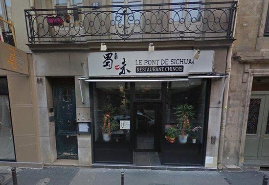 facade du restaurant