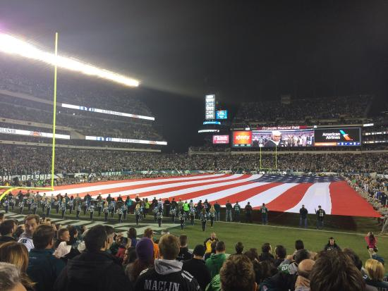View from Section 112 - Picture of Lincoln Financial Field ...