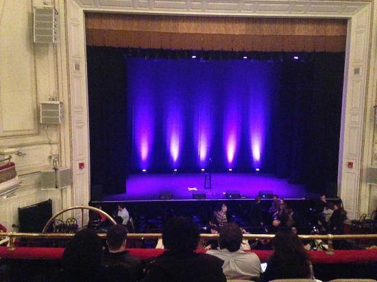 Wilbur Theater Mezzanine Seating Chart