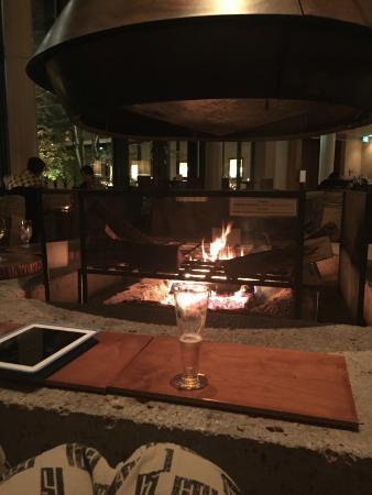 Fire pit/living room - Picture of Hyatt Regency Hakone ... on Living Room Fire Pit id=80377