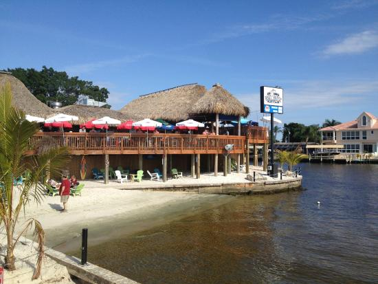 Seafood In The Boat House Tiki Bar Amp Grill Picture Of