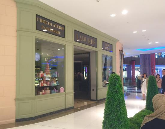 Image result for laduree, dubai mall, review