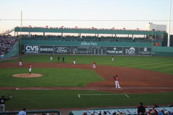 Green Monster - Picture of JetBlue Park, Fort Myers ...