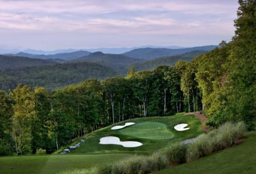 The course is just ok   Review of Old Edwards Club  Highlands  NC     Old Edwards Club