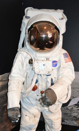 A real astronaut space outfit - Picture of Canberra Deep ...