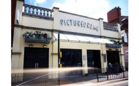 A photograph of the exterior to The Picturedrome