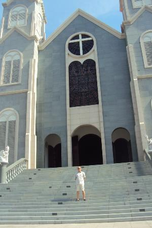 St Mary's Cathedral in Baria, now the capital of Vung Tau ...