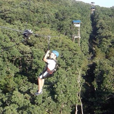 Photo0jpg Picture Of Branson Zipline At Wolfe Mountain