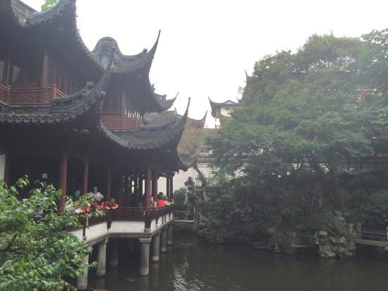 yu garden yuyuan super visite jardin magnifique