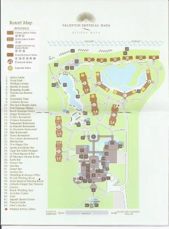 Resort Layout Room Locations