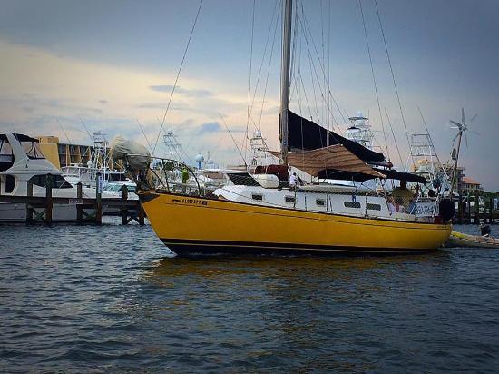 Yellow Sailboat Private Sailing Charters Destin FL