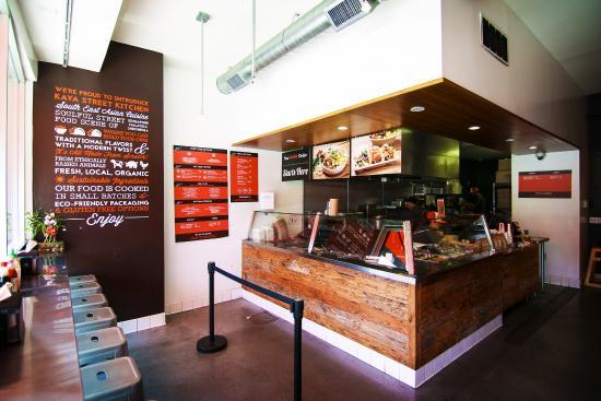 Interior Kaya Street Kitchen Los Angeles Tripadvisor