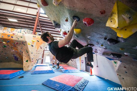 Central Rock Gym Bouldering