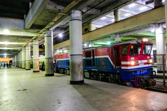 Mandalay train station - Picture of Mandalay Central Railway ...