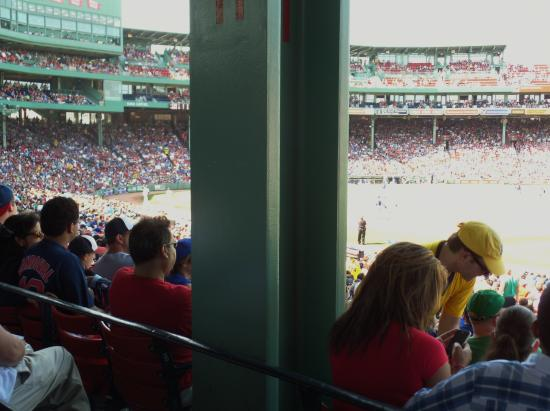 Obstructed View from Fenway Park