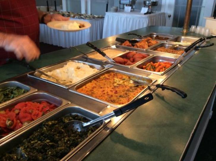 Hot Buffet - Picture of The Hotel Jacaranda, Avon Park - Tripadvisor
