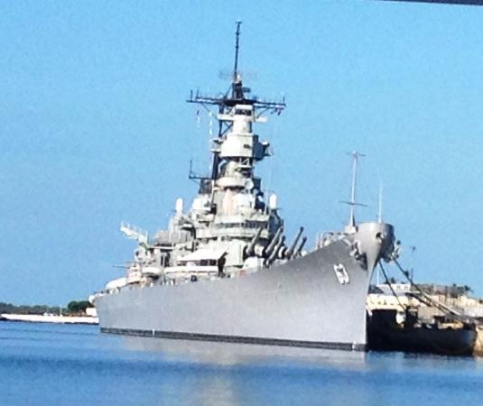 1番砲塔から - Picture of Battleship Missouri Memorial, Honolulu ...