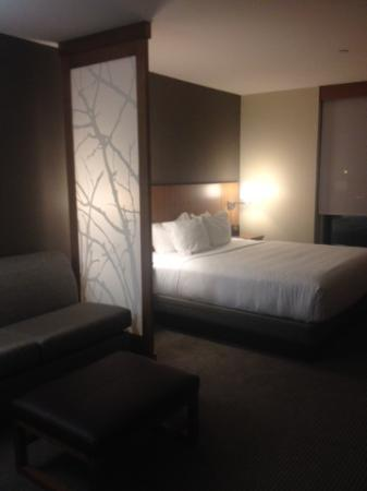 Hyatt Place Bloomington Normal King Bed With Nice Sheets