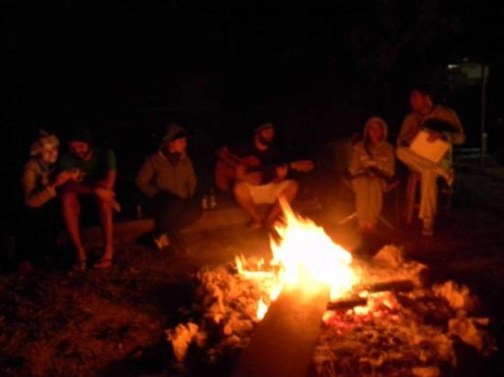 Fogueira - Foto de Camping Viveiro, Alto Paraíso de Goiás ...