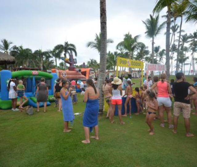 Club Med Punta Cana Kids Club Water Party
