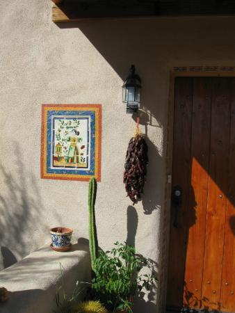 mexican tile mural picture of paca de