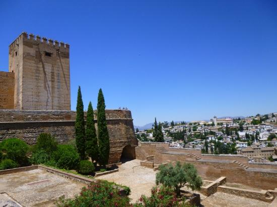 Tower of the cubo - Alhambra