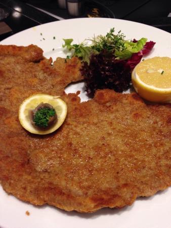 Image result for Wiener Schnitzel at KaDeWe food in Berlin