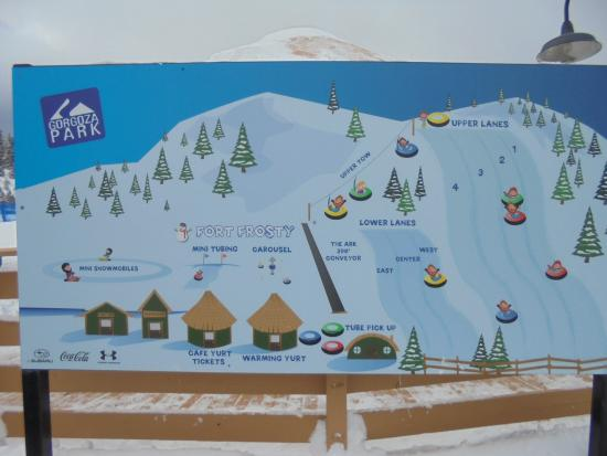 It all works together at park city and that's what's pushed them to the gold. Map Of The Mountain Picture Of Woodward Park City Tripadvisor