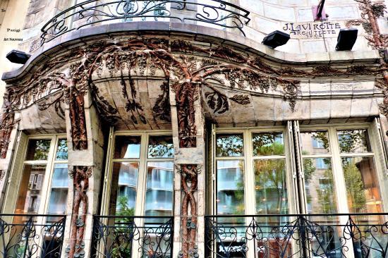 edificio art nouveau ed arch