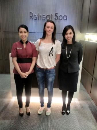 Our Guest Ms Christine From Jakarta Picture Of Retreat Spa At Eastparc Hotel Depok Tripadvisor