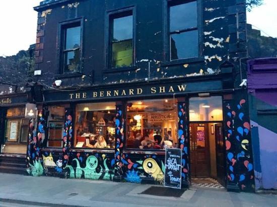 The Bernard Shaw pub, Dublin
