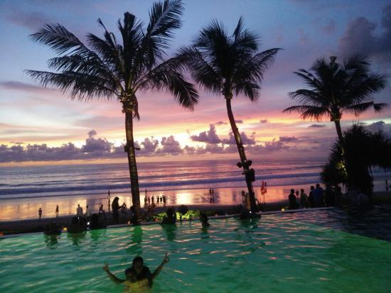 Sunset at Potato Head - Picture of Potato Head Beach Club ...