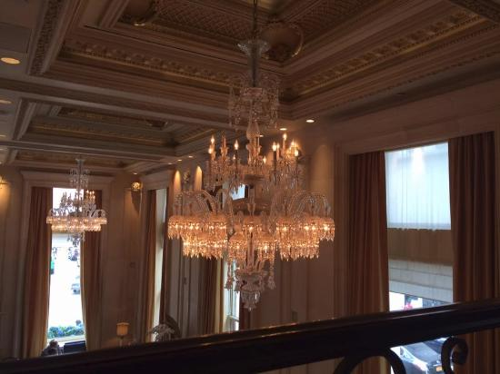 The Rose Club At Plaza In Nyc Chandeliers