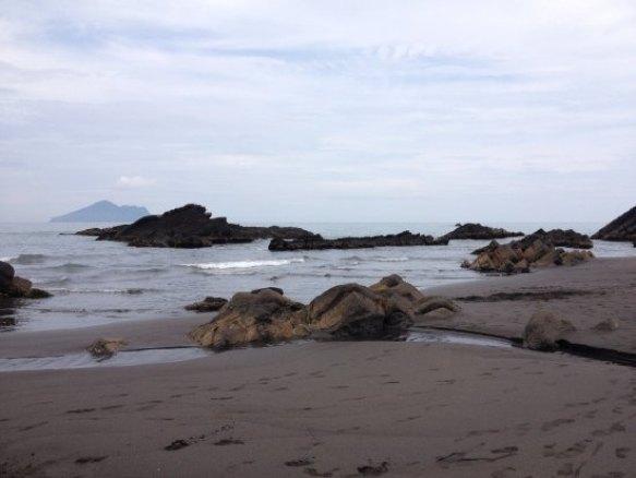 Waiao beach, Yilan