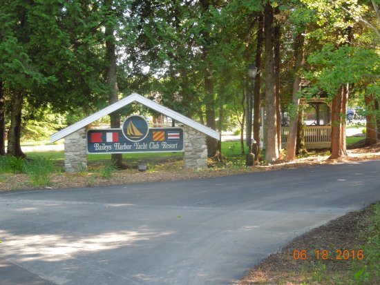 Main Entrance To The Yacht Club Resort Picture Of