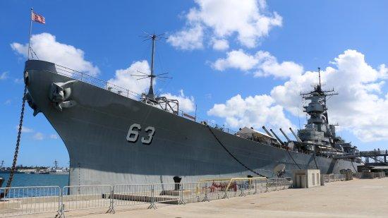 USS Missouri, Pearl Harbor,Oahu Hawaii - Picture of ...