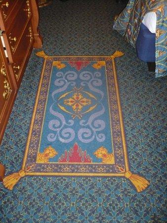 Tapis DAladdin Dans La Royal Guest Room Photo De Disney
